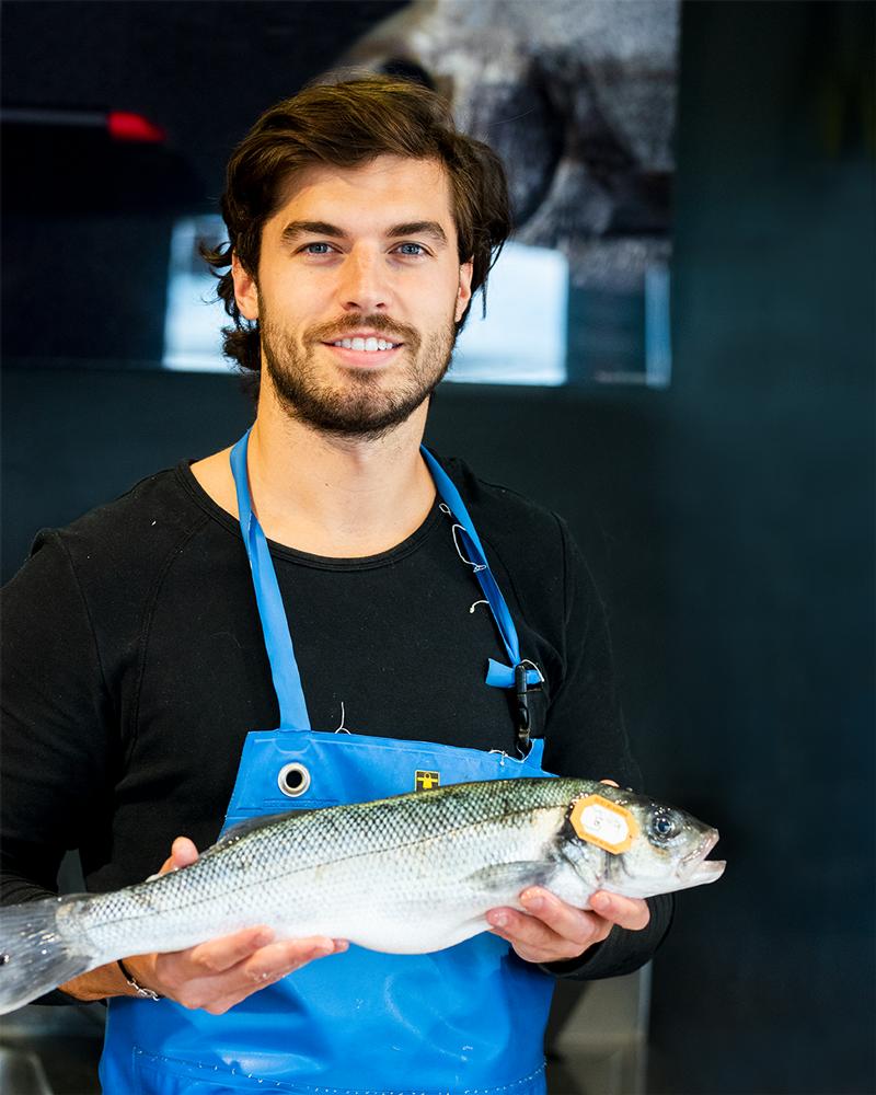 team poissonnerie Quentin